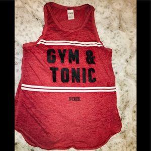 Victoria's Secret gym tank